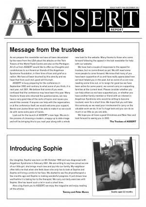 Newsletter-31-Dec 2001