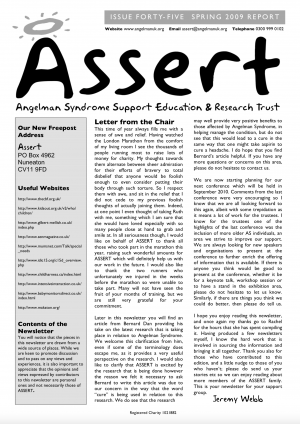 Newsletters and Resources - Angelman Syndrome - Angelman